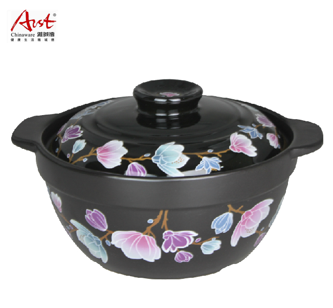 Arst/ya tak 3l liang kang crystal tangbao korean ceramic casserole stew pot porcelain pot dry without cracking free shipping