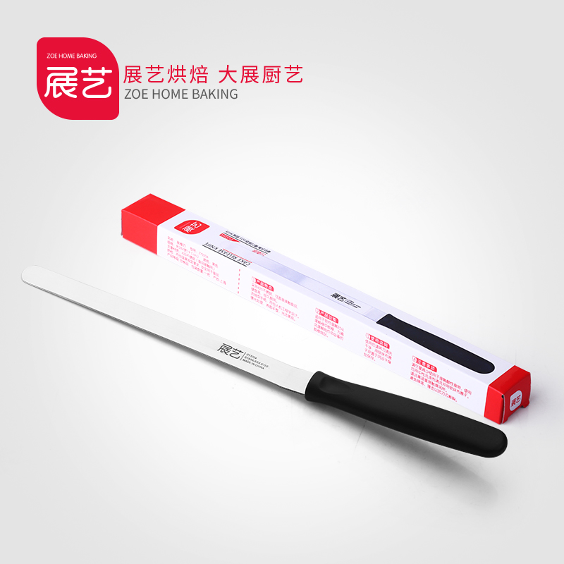 Arts exhibition bakeware chiffon cake stripping knife blade stainless steel butter knife spatula stir stick stirring rod