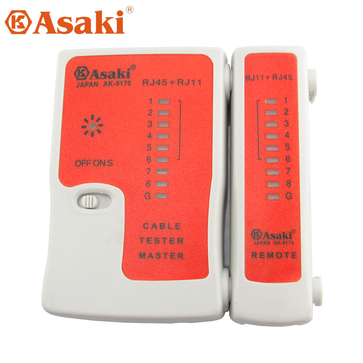 Asaki cable tester cable tester telephone line tester network cable tester cable tester network cable wiring detection