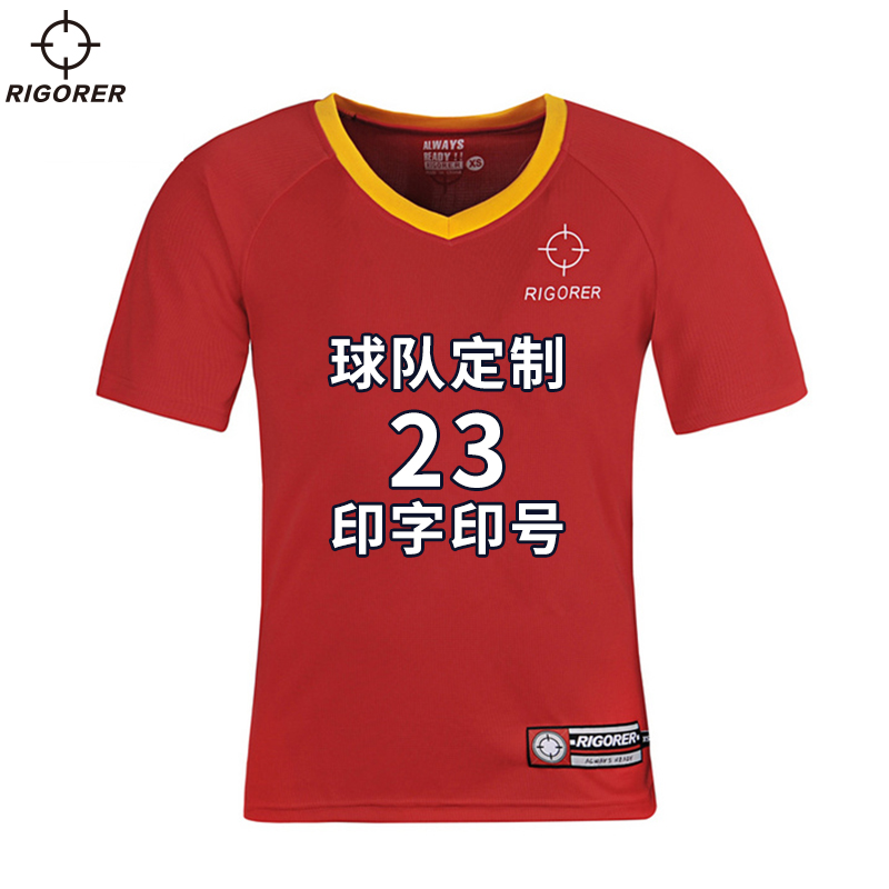 Associate who ran basket summer new loose round neck t-shirt breathable wicking short sleeve wicking sports t-shirt men's casual