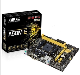Asus/asus a58m-e A68HM-E motherboard fm2 + April new new licensed shipping
