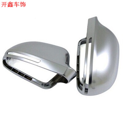 Audi q3 a4l a5 a6l refit dedicated rearview mirror rearview mirror shell s3 s4 chromeplating s5s6 q5q7 rearview mirror rearview mirror cover