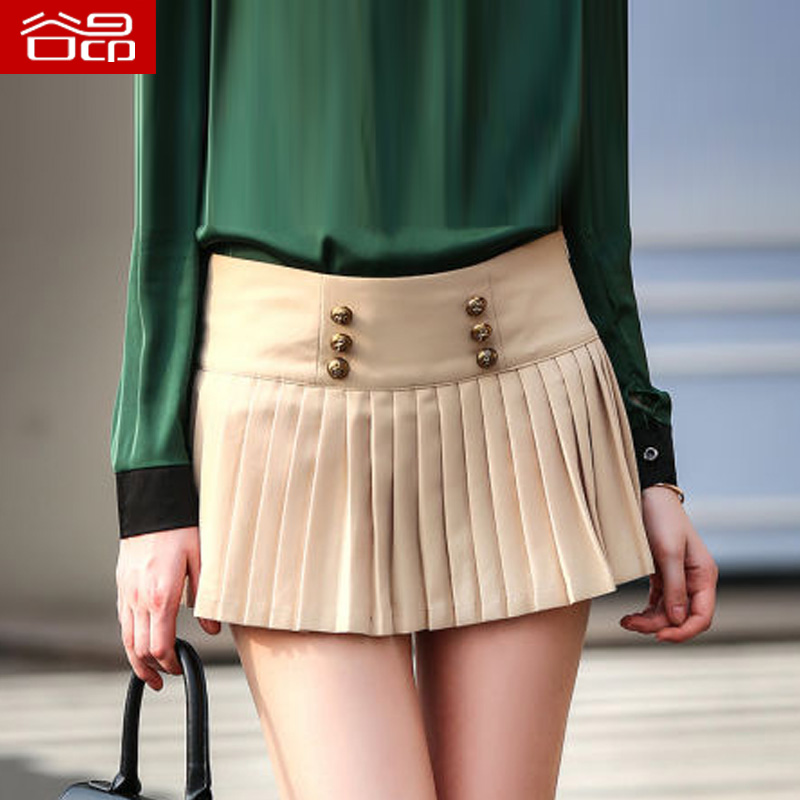6c1d958589e Get Quotations · Aung valley 2016 summer new short skirts female small  fresh fashion chiffon skirts short skirt pleated