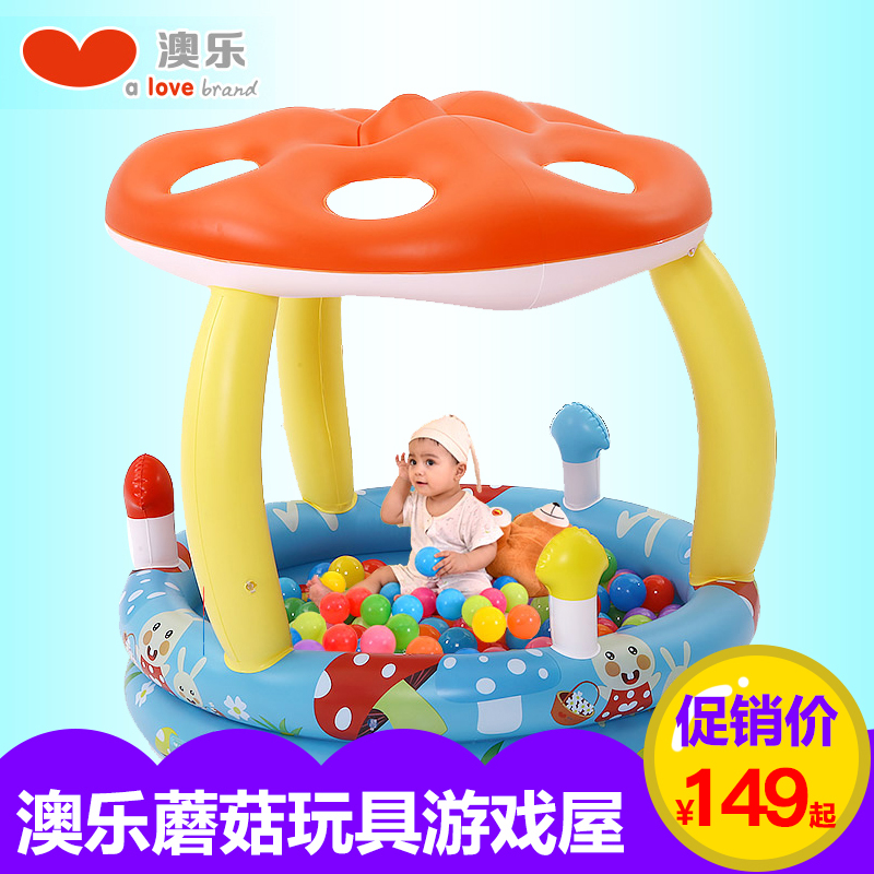 Australia le play house baby ocean ball pool thickened mushroom family baby toys inflatable ball pool ball ball pool toys for children