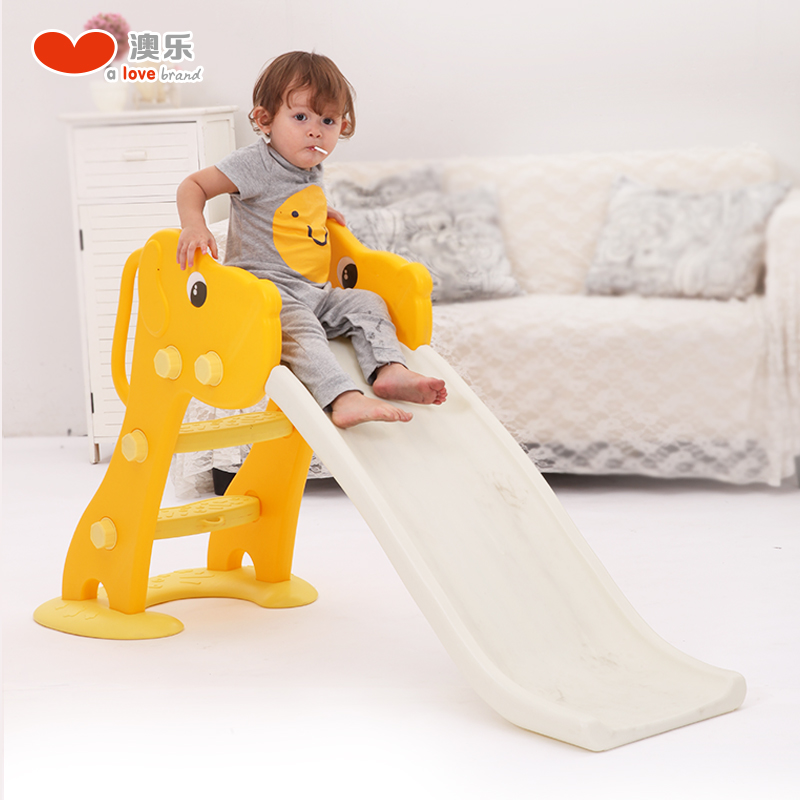 Australia le play house children's indoor play toy infants and young children plastic slide baby slide and shooting toy puppy slippery ladder