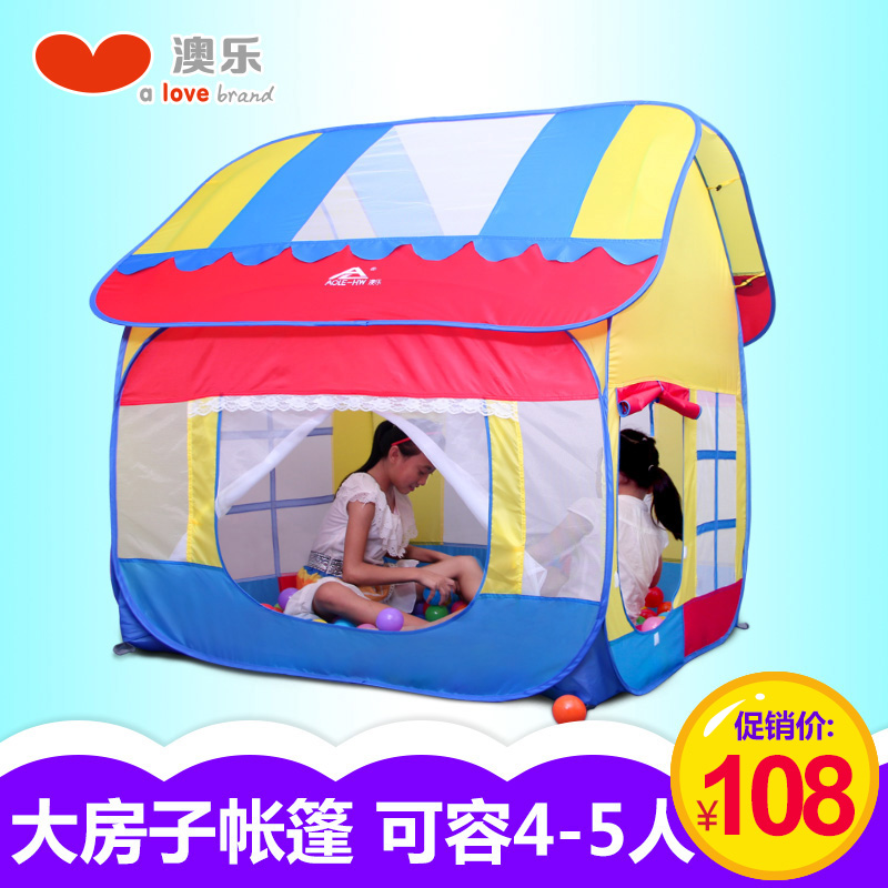 Australia le play house children's tent large house princess baby wave ocean ball pool indoor play house toys for children infants and children