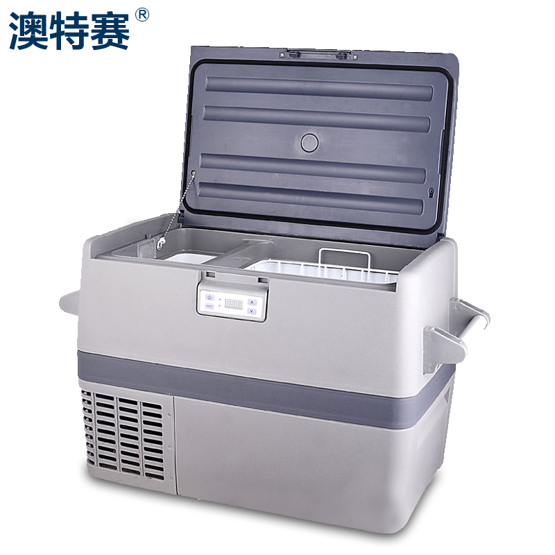 Australian special race compressor car refrigerator car home dual smart thermostat freezer small refrigerator car refrigerator freezer