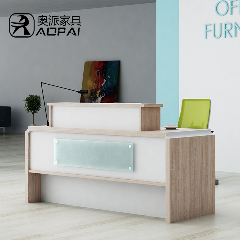 Austrian office furniture plate minimalist modern reception welcome reception desk in the lobby reception bienstock taiwan new hot spot