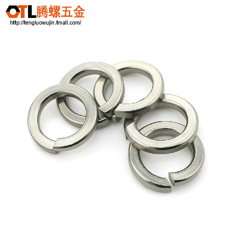 Authentic 304 stainless steel shells pad gb93 spring washer/spring washer/elastic gasket/washer m2-m24
