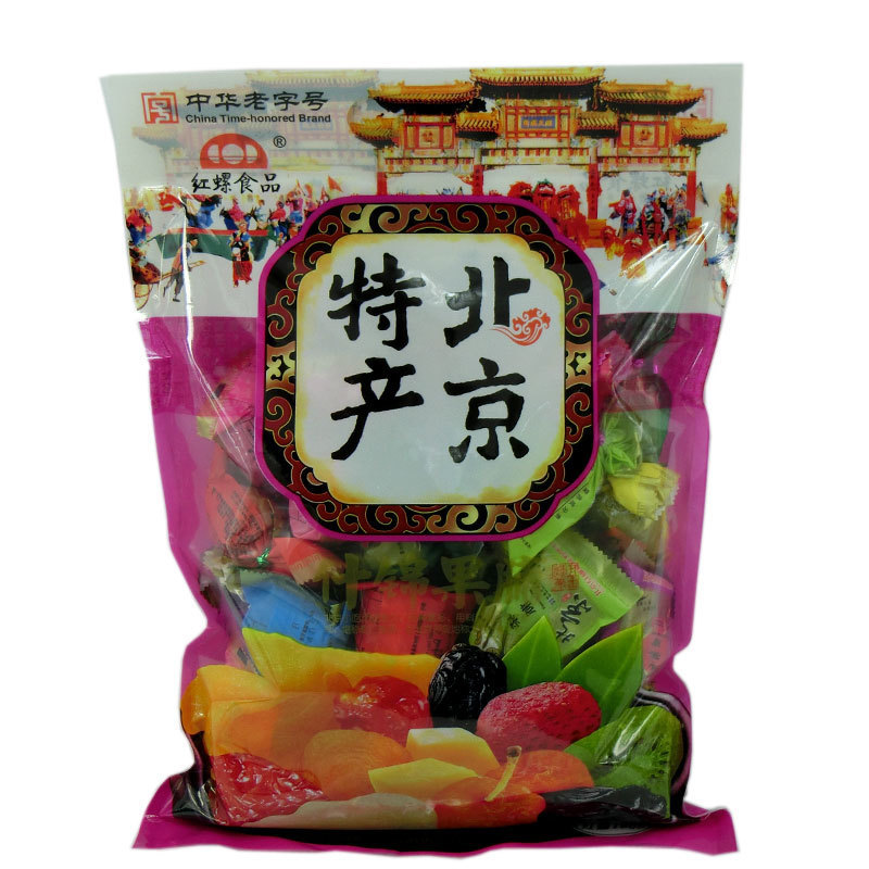 Autumn and promote the old beijing specialty food rhodospirillum beijing g candied dried fruit preserved assorted autumn spree