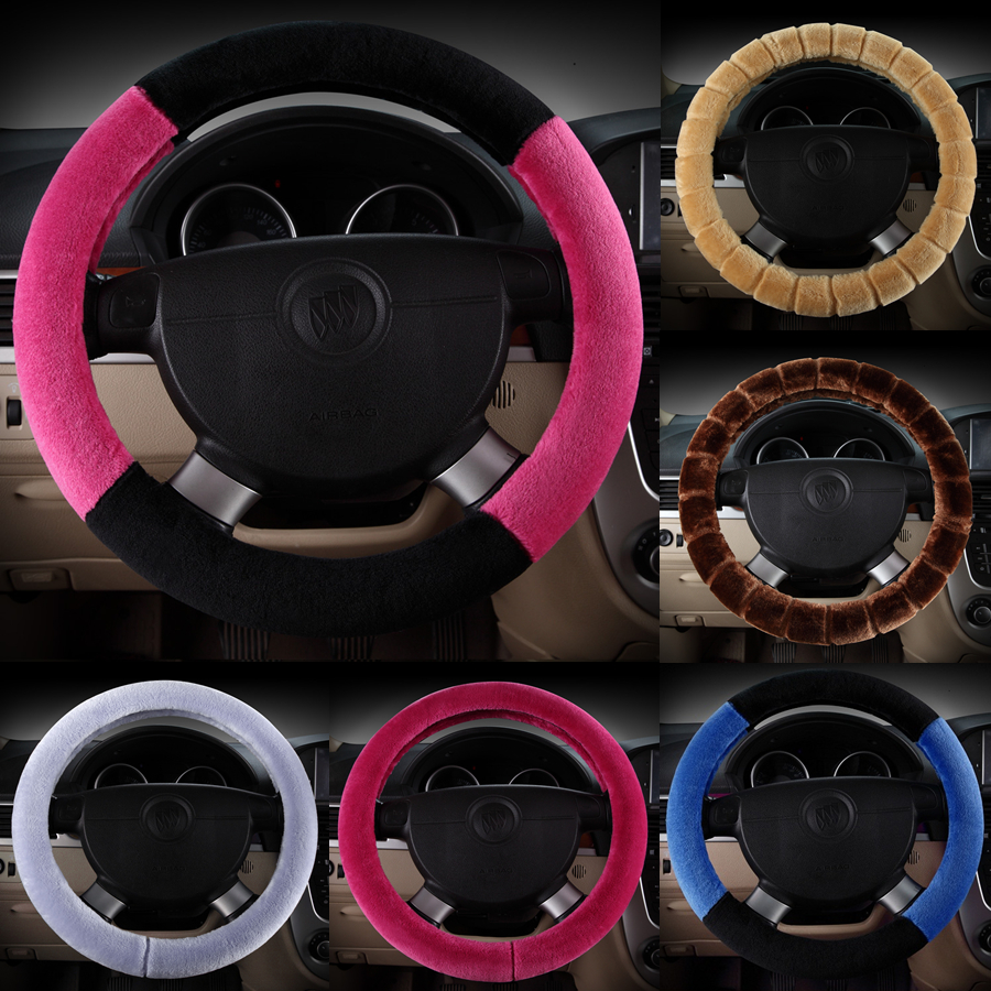Autumn and winter plush car steering wheel cover to cover winnebago m5100只0S changhe freda ideal fortune q25