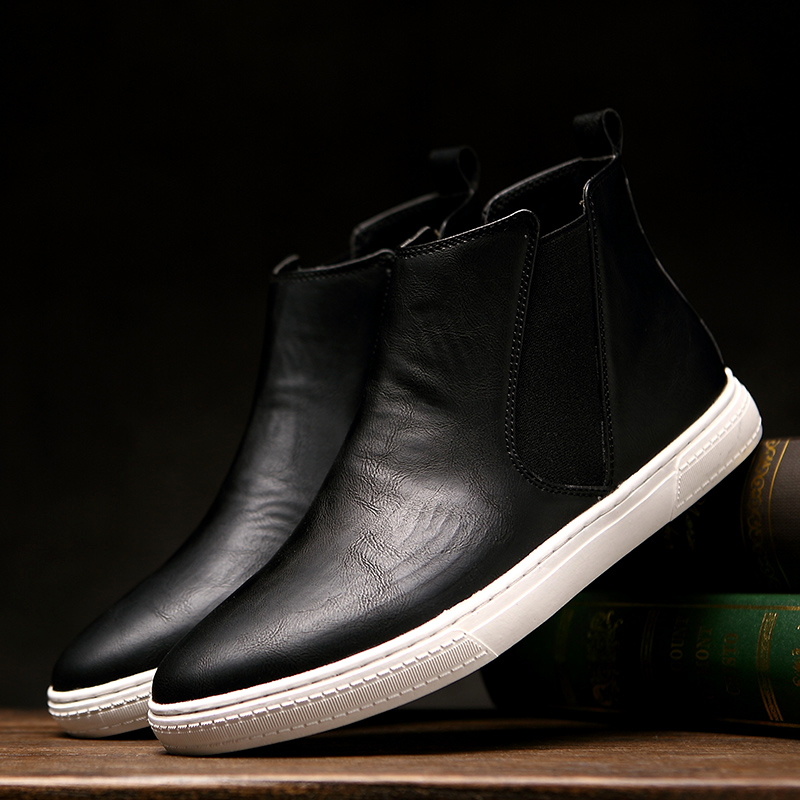 Autumn british style fashion men shoes men's casual shoes retro shoes tide shoes thick crust muffin shoes shoes men