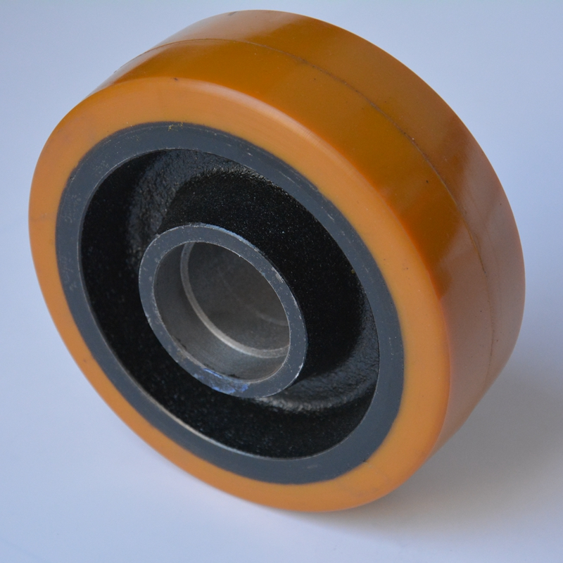 Auxiliary wheel electric wheel electric forklift hydraulic car connaught forklift wheel bearing polyurethane wheels