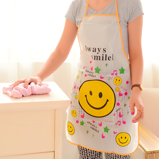 Baby bath waterproof korean fashion home kitchen apron restaurant bbq oilproof baby clothes shop apron