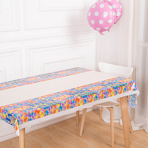Baby birthday party arranged a birthday party supplies birthday party decoration props table linen tablecloth tablecloth