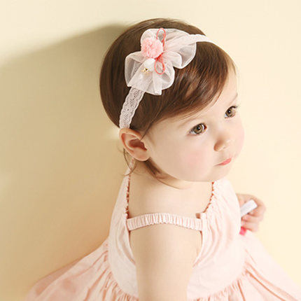 df161a9e498 Get Quotations · Baby flower headband baby hair band head flower hair  accessories baby children headdress hair accessories for