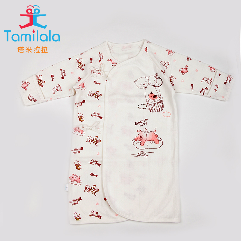 Get Quotations · Baby pajamas baby pajamas nightgown spring anti tipi  newborn child warm cotton men and women nightgown 9222a02cd5