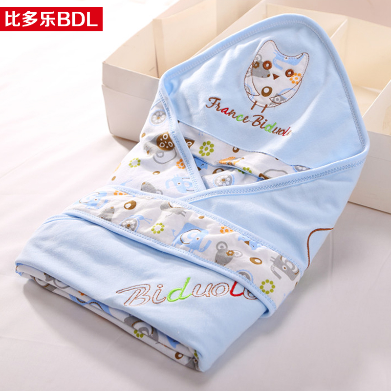 Baby was coated spring and summer cotton newborn hold is spring and autumn thin section baojin baby swaddle blankets supplies