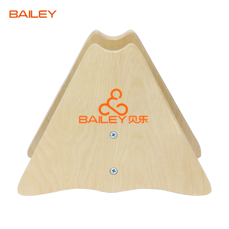 Bailey children bike parking racks wooden racks wood balanced car balance car bracket