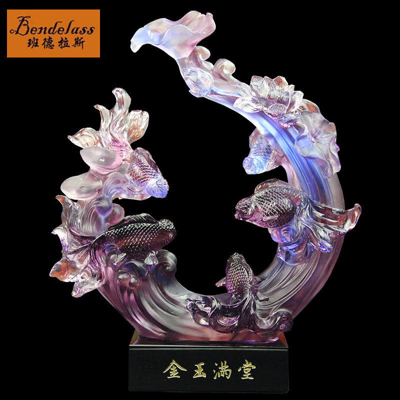 Banderas feast wedding gift home decorations housewarming gift business gifts glossy glass ornaments