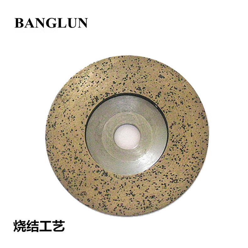 Banglun sintered durable 100*16 glass edging honing-tool use