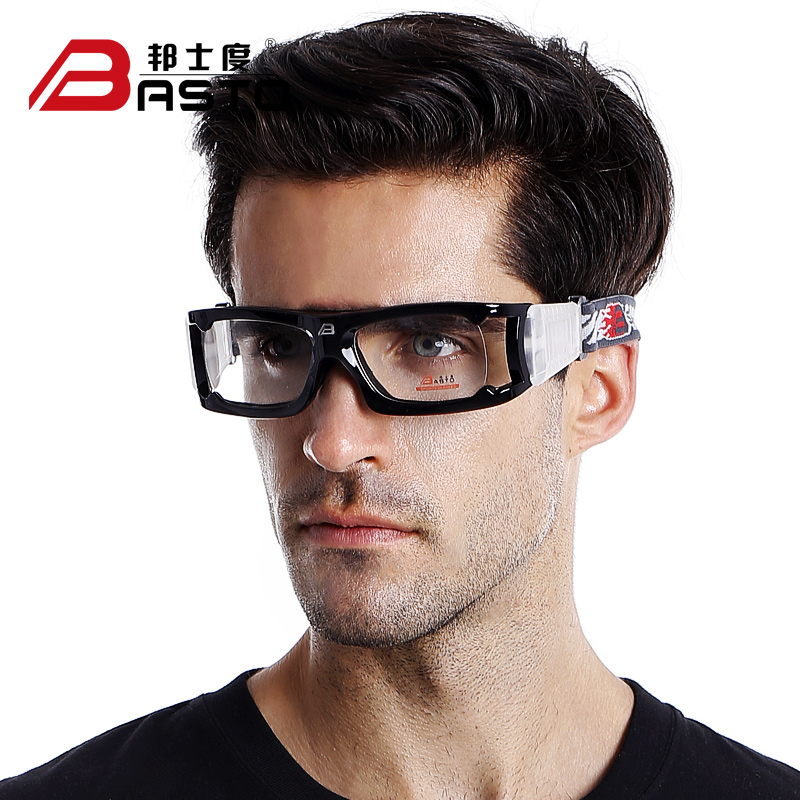 Bangshi degrees basketball glasses fogging male football protective sports glasses frame myopia frame glasses frame goggles bl021