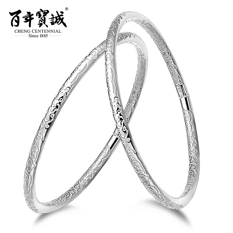 Baozen hundred silver bracelet bohemian fine silver silver bracelet silver bracelet opening silver bracelet silver fashion to send his girlfriend