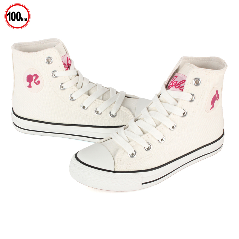 Barbie/barbie high to help casual shoes solid color canvas shoes korean tidal student shoes shoes BCH104
