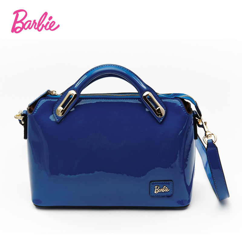 Get Quotations Barbie Sweet Brightly Colored Candy Color Portable Shoulder Bag Messenger Multi Cow Leather