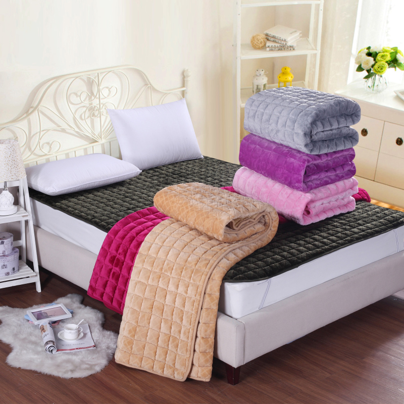 Bashir thick solid law levin velvet mattress 1.51.8 tatami bed student dormitory mattress thicker foldable