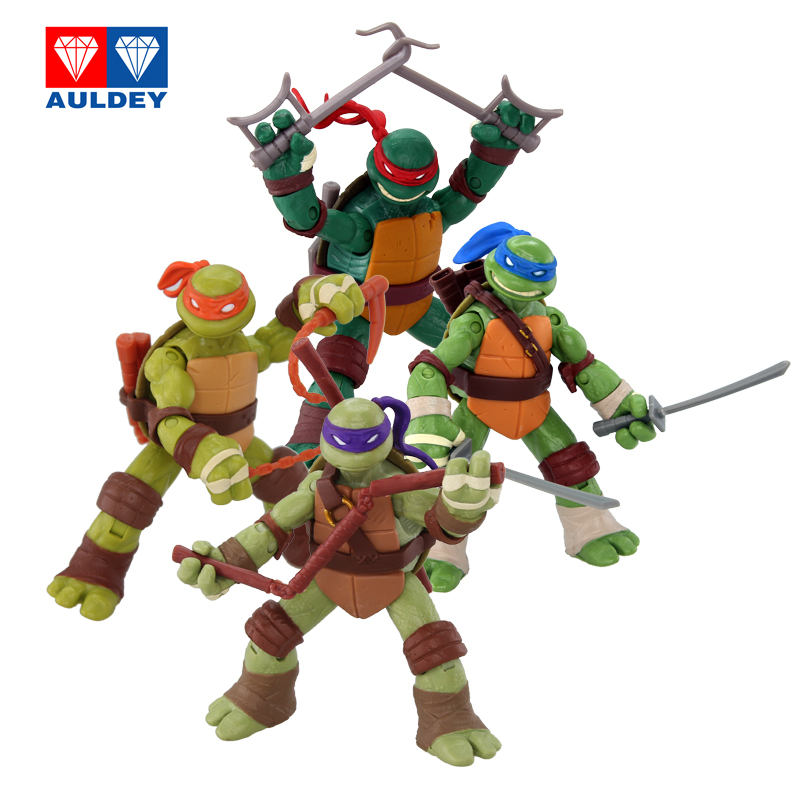 Basic version of teenage mutant ninja turtles toy hand office earners 1988 classic version of the teenage mutant ninja turtles toys genuine hand to do