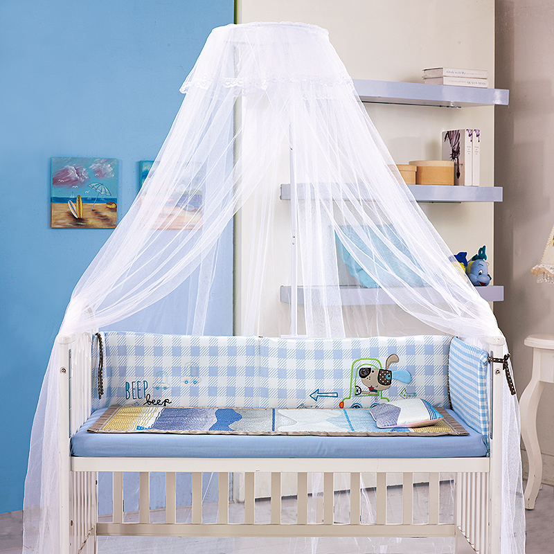 bca2065722c Get Quotations · Baylor fort crib mosquito nets baby mosquito net door card  child mouth type bb bed baby