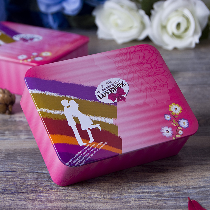 Bead wedding-candy box can be mounted smoke candy tin candy box personalized candy box candy box 2015 new european