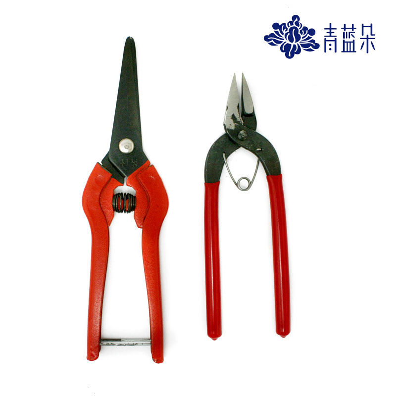 Beaded material diy handmade beaded jewelry accessories tools small scissors scissors scissors korea