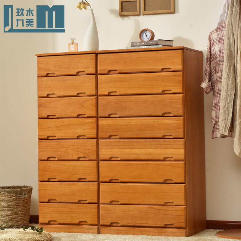 Bedroom cupboard lockers modern minimalist wood chest of drawers drawer cabinet ready special combination of small chest of drawers chest of drawers chest of drawers