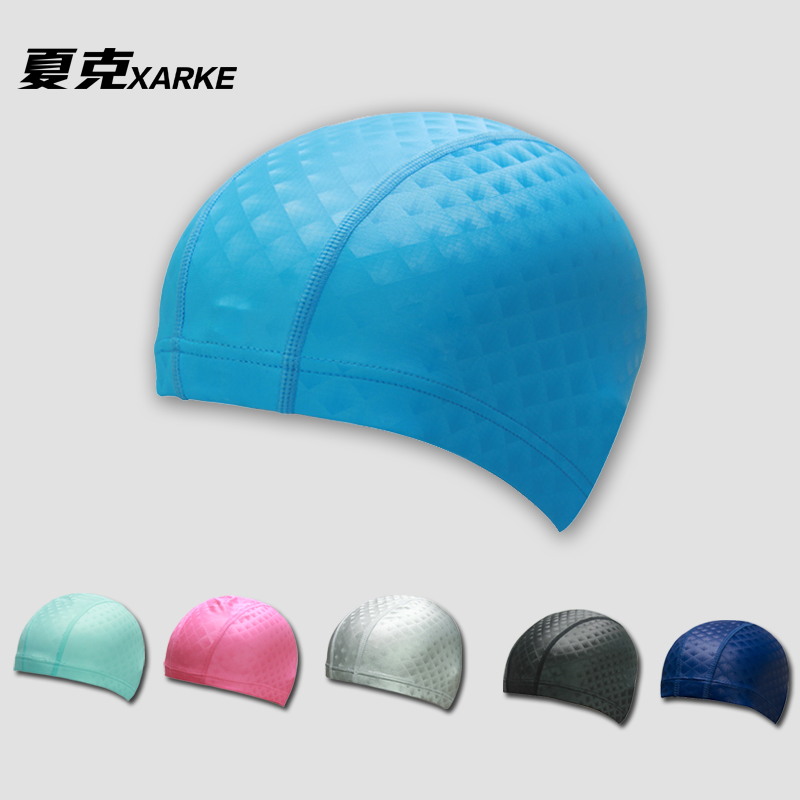 Begotiation membership 2016 new hot springs swimming cap pu waterproof swimming cap swimming cap with long hair for men and women adult professional swimming equipment