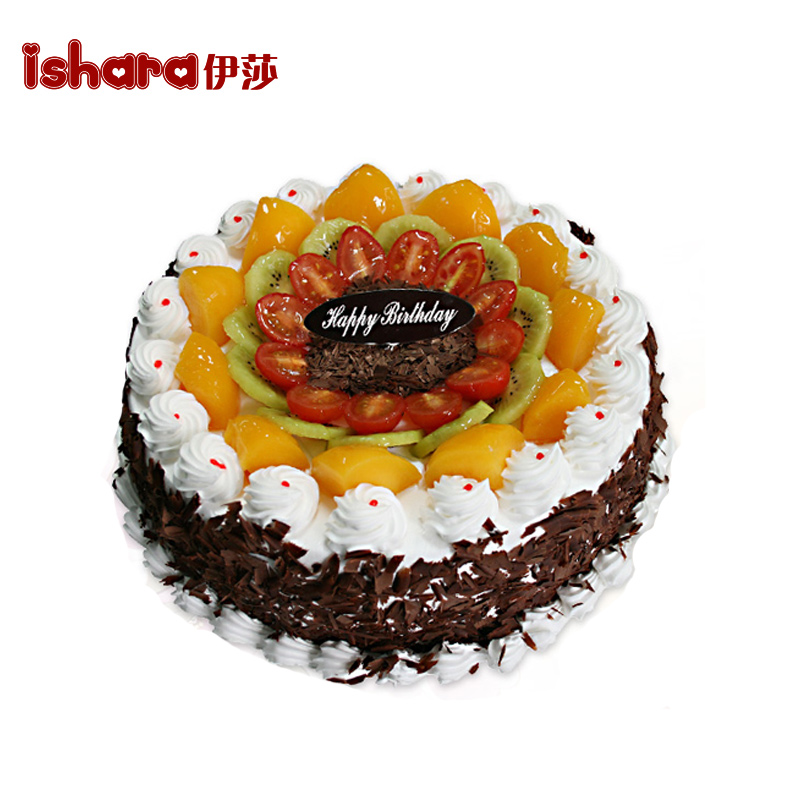 Get Quotations Beijing Chongqing Isa With Hainan Fruit Chocolate Birthday Cake Bakeries Nationwide Hefei City Courier Delivery Scheduled