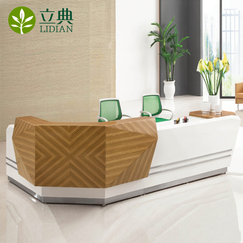 Beijing office furniture paint company reception desk reception welcome reception desk cashier desk