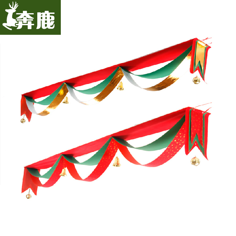 Ben deer christmas decorations christmas gifts wavy flag scene decorative hanging flags decorative 5 m, 3 m waves Flag
