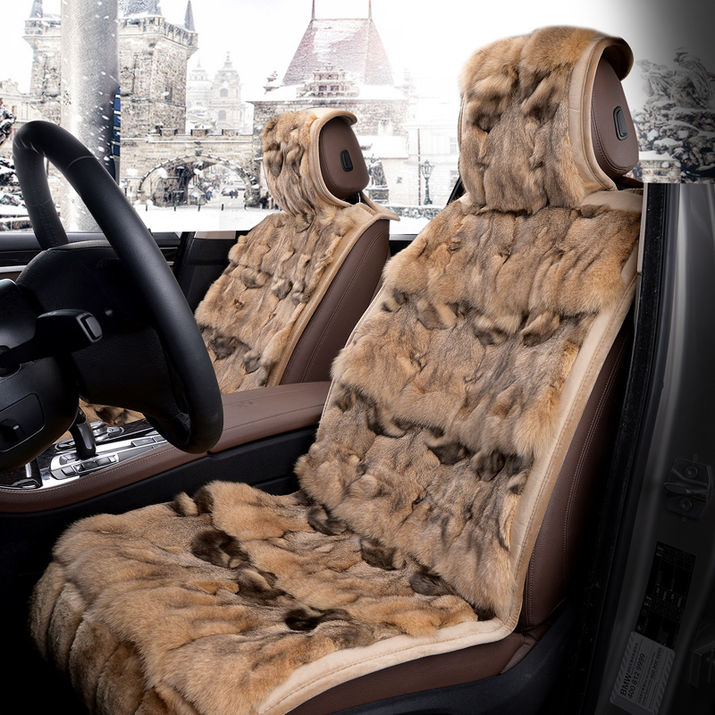 Benchi ML500ML400ML300ML320/350 four seasons general short plush car seat cushion winter wool cushion