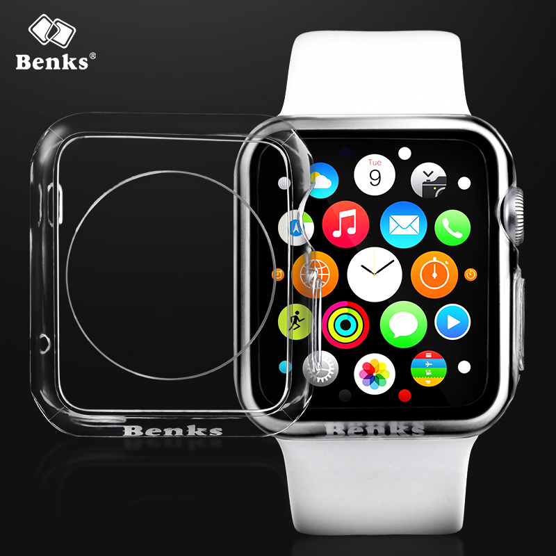 Benks apple watch iwatch watch apple protective sleeve protective shell transparent silicone protective shell