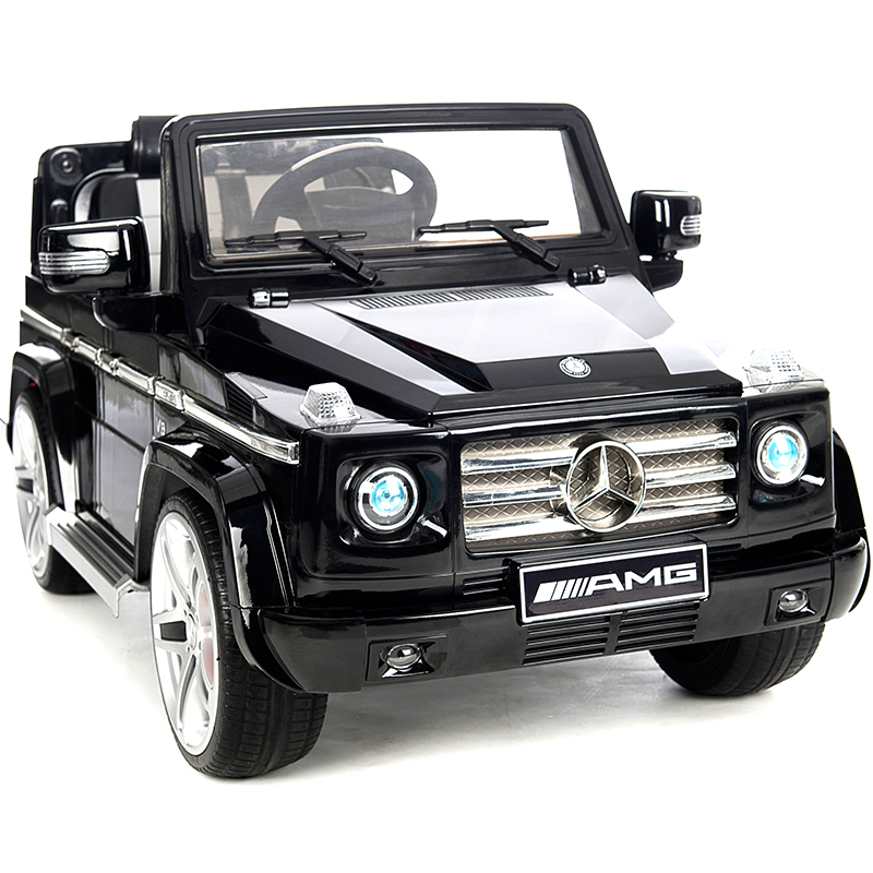 Benz g55 children electric sport utility vehicle four remote control car baby child electric car toy car can sit people