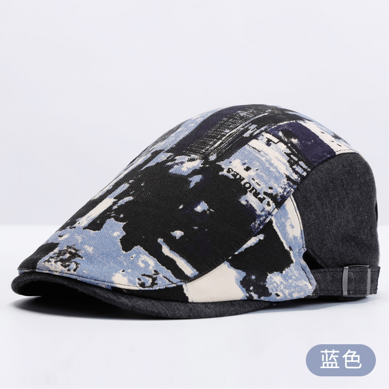 3cb31e5d0fbea Get Quotations · Beret cap male hat male autumn and winter korean version  of the british fashion casual painter
