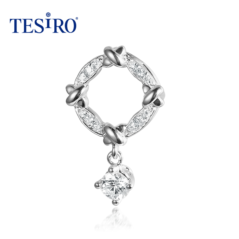 Berlin tesiro psychic jewelry k gold diamond key pendant necklace junichiro koizumi genuine gift k chain