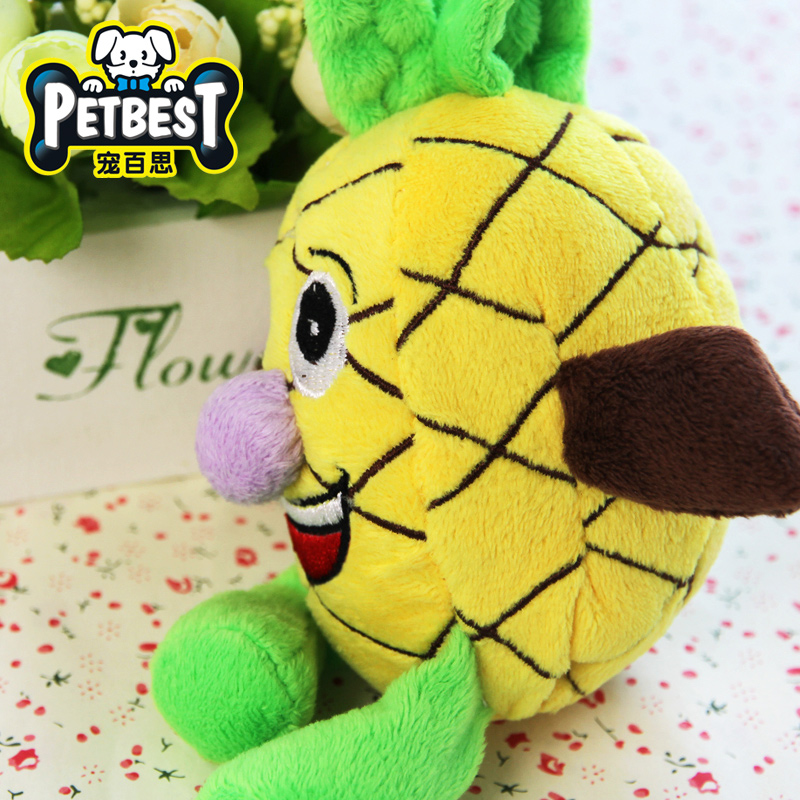 Best pet pet toy dogs and cats bite resistant plush toys sound toys dog toys molar teddy pet supplies