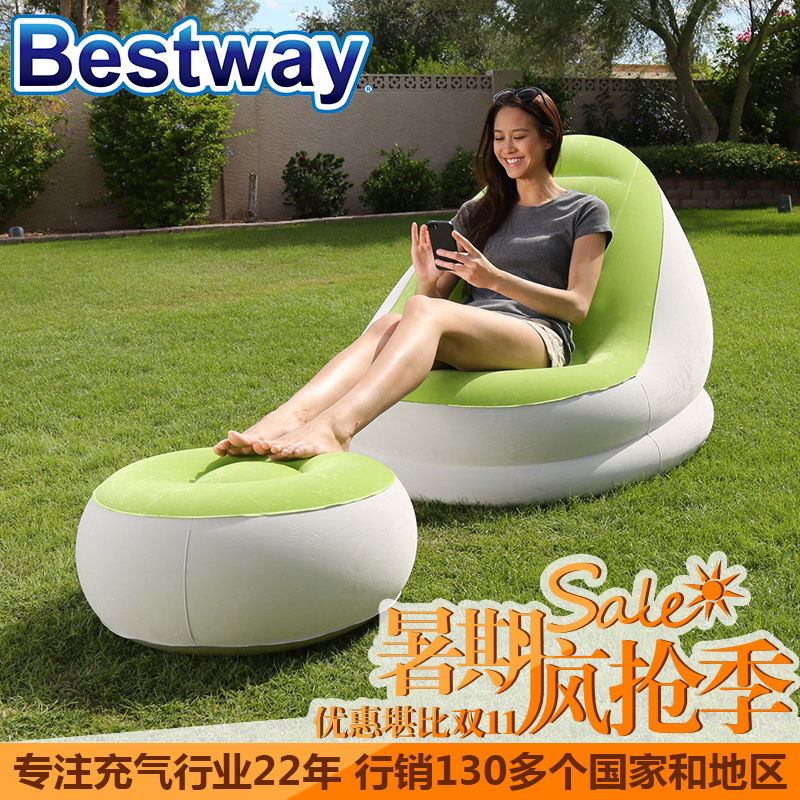 Bestway children's inflatable sofa baby toys infants and young children baby inflatable sofa sofa sofa genuine