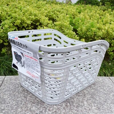 Bicycle rear bike bicycle basket basket basket food basket basket basket the basket pet dog after export