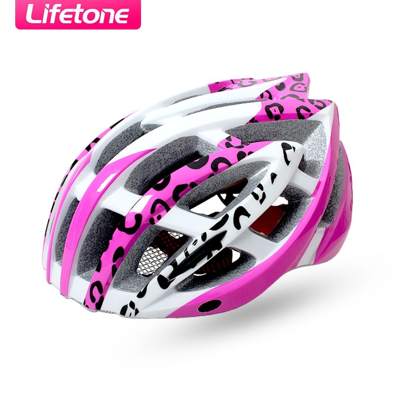 Bicycle riding helmet mountain bike helmet forming one female ultralight road bike helmet riding helmet