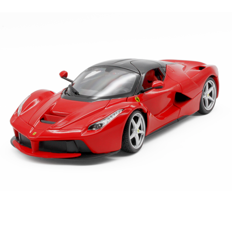 Bimei high/bburago alloy ferrari laferrari rafah 20121:18 red roadster car model simulation mode