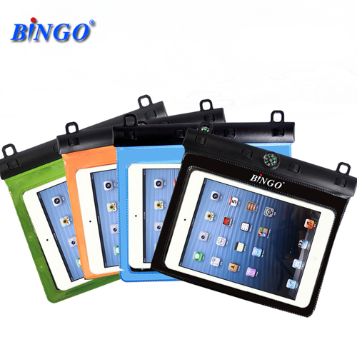Bingo waterproof sleeve mini ipad4 ipad 3 dive waterproof bag waterproof cover cover small tablet